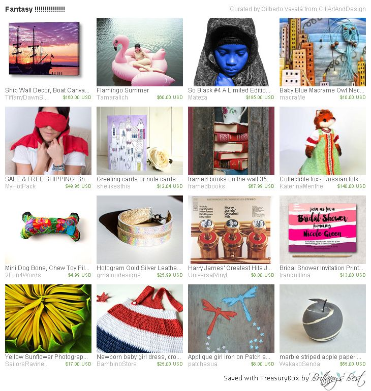 Fantasy by CiliArtAndDesign has our dog bone! http://etsy.me/1DVDf1Z #Etsy #treasury #dog #toy #pillow #chewtoy #tropical
