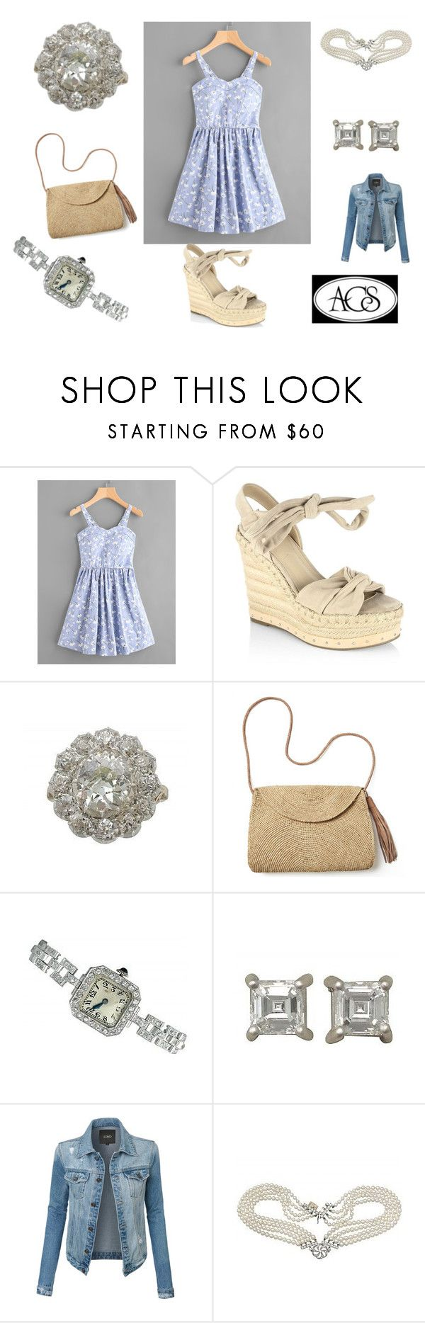 """""""Espadrilles - Contest"""" by ac-silver ❤ liked on Polyvore featuring Kendall + Kylie, Mar y Sol, LE3NO and vintage"""