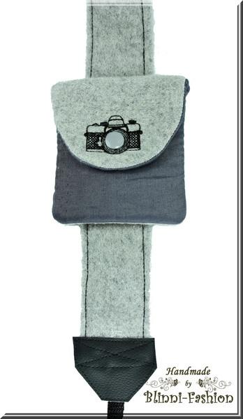Tasche für Kamera-Zubehör,die Mini-Kameratasche zum Kameragurt    Die kleine Kameratasche zur Aufbewahrung von Objektivdeckel, Filter, Akku oder SD...