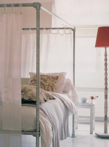 Build Your Own Canopy Bed Frame