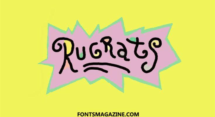 Blank Rugrats Logo Svg Etsy Rainbow Nursery Art Printable Art Printable Wall Art