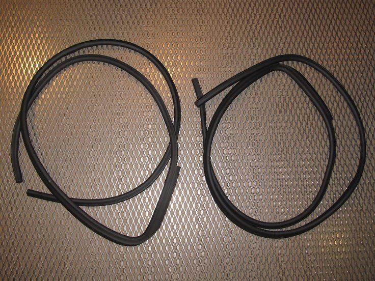91 92 93 94 Nissan 240SX OEM Door Chassis Belt Line Moulding Stripping