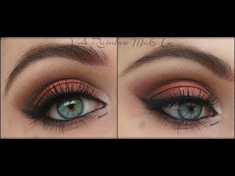 """Scopriamo, grazie a questo utile tutorial diVA Rainbow Make Up, come truccare gli occhi azzurri per farli risaltare al meglio.  Si tratta di un makeup in stile """"smokey eyes"""" ma che, invece dei più"""