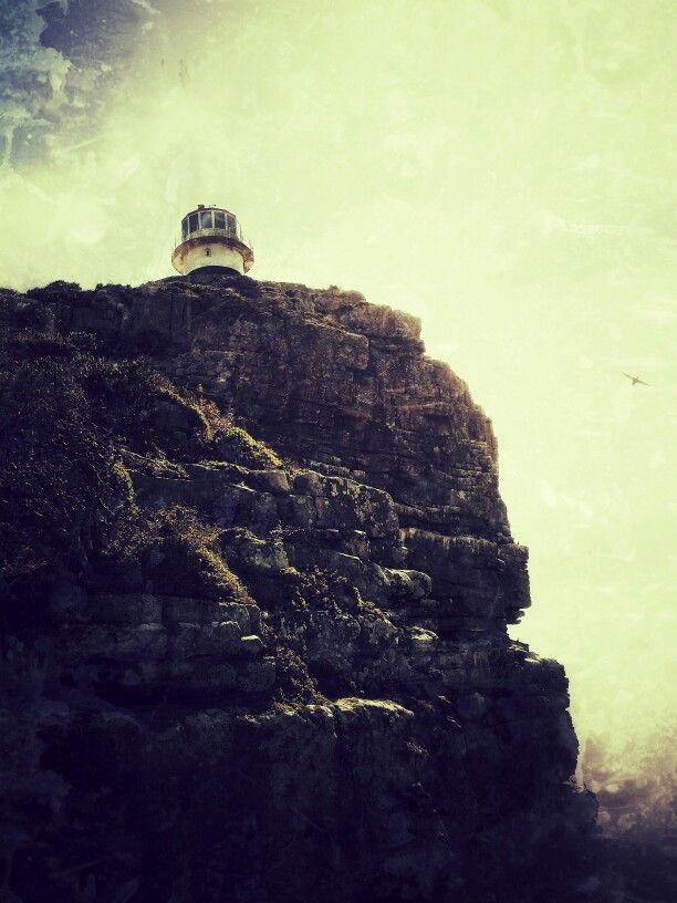 Cape Point lighthouse. Cape Town SA