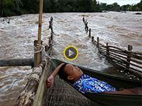 Il fotografo David Guttenfelder ha creato un diario di viaggio molto speciale: un secondo di ripresa per ogni giorno di lavoro sul fiume Mekong per Nat Geo