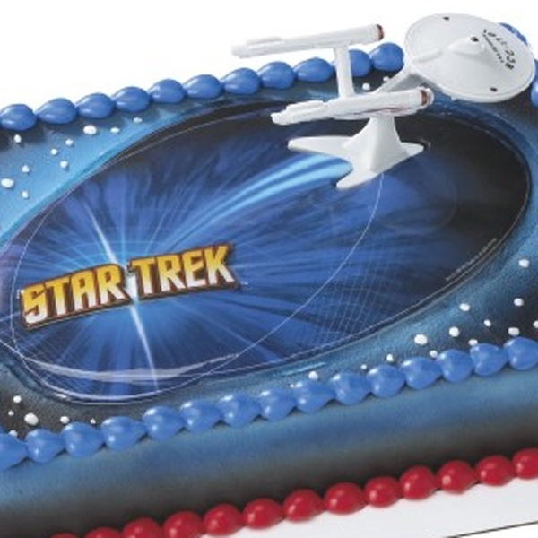 star trek cake trek uss enterprise cake decorating kit trek 7668