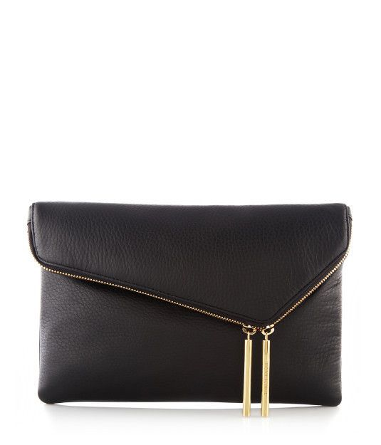 Debutante Asymmetric ClutchHenri Bendel, Black Clutches, Hand Bags, Camel Leather, Asymmetrical Clutches, Clutches Handbags, Clutches Purses, Clutch Bags, Hands Bags