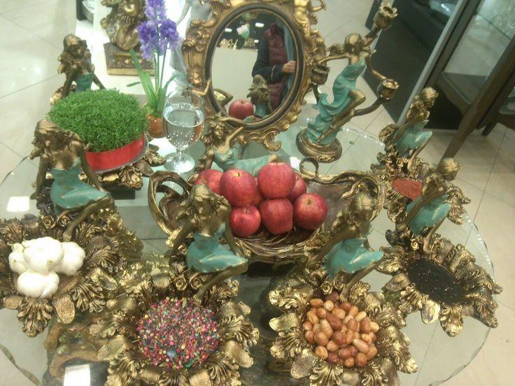 My Persian Corner: Iranian Nowruz- Haft Seen Table ... Persian Haft Seen