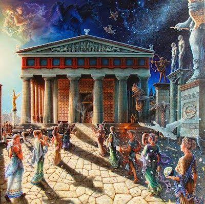 Ταξίδι στην αρχαία Ελλάδα: Μια ημέρα από τη ζωή ενός αρχαίου Αθηναίου και μιας Αθηναίας.