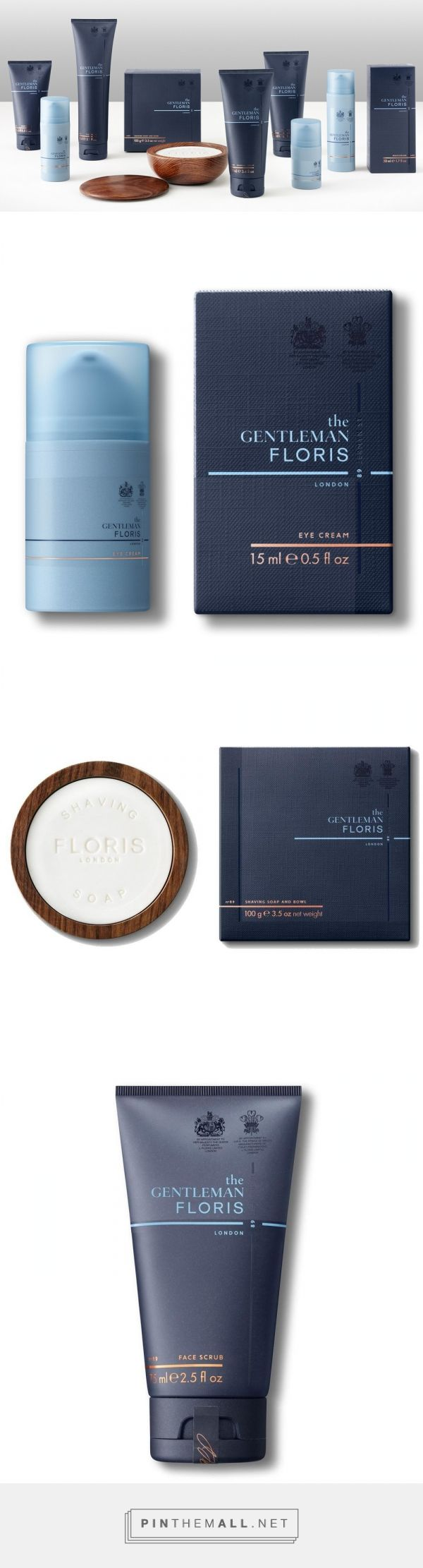 The Gentleman Floris — The Dieline - Branding & Packaging... - a grouped images picture - Pin Them All