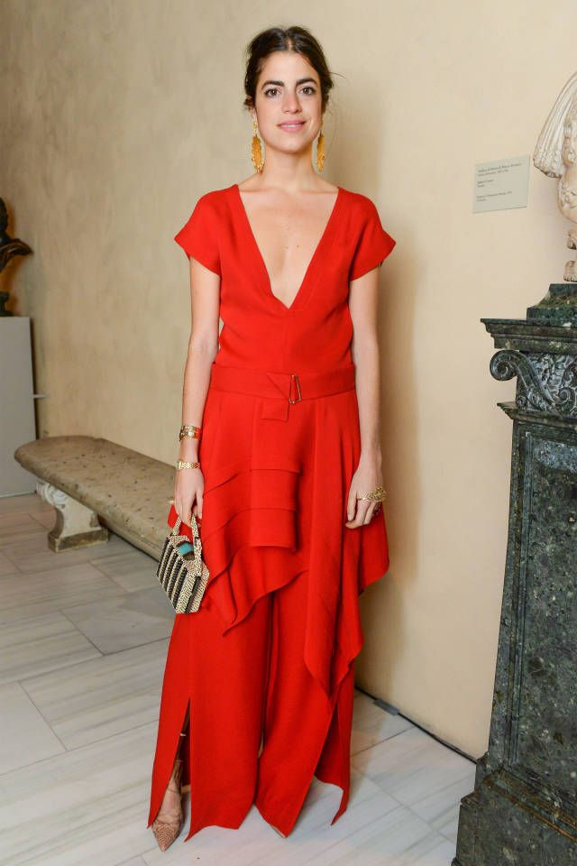 Leandra Medine in Maiyet.  Love the low key hair & makeup.