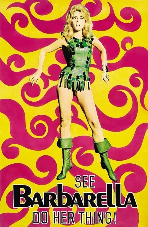 BARBARELLA (1968) -- starring Jane Fonda
