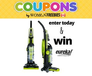 Win an Eureka Vacuum Cleaner...Perfect timing, my vacuum just packed it in!