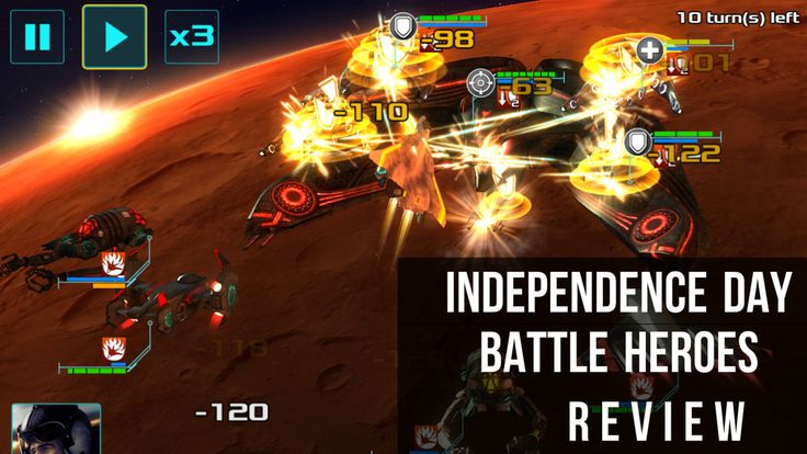 [Review] Independence Day Battle Heroes – They're Back!
