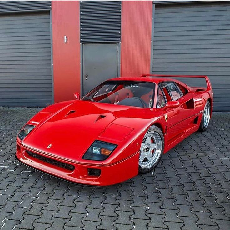 "12k Likes, 18 Comments - Amazing Cars 24/7 (@amazingcars247) on Instagram: ""Ferrari F40!  Photo via: @kenozache  Second page: @M85Media  Other page: @StancedAutohaus…"""