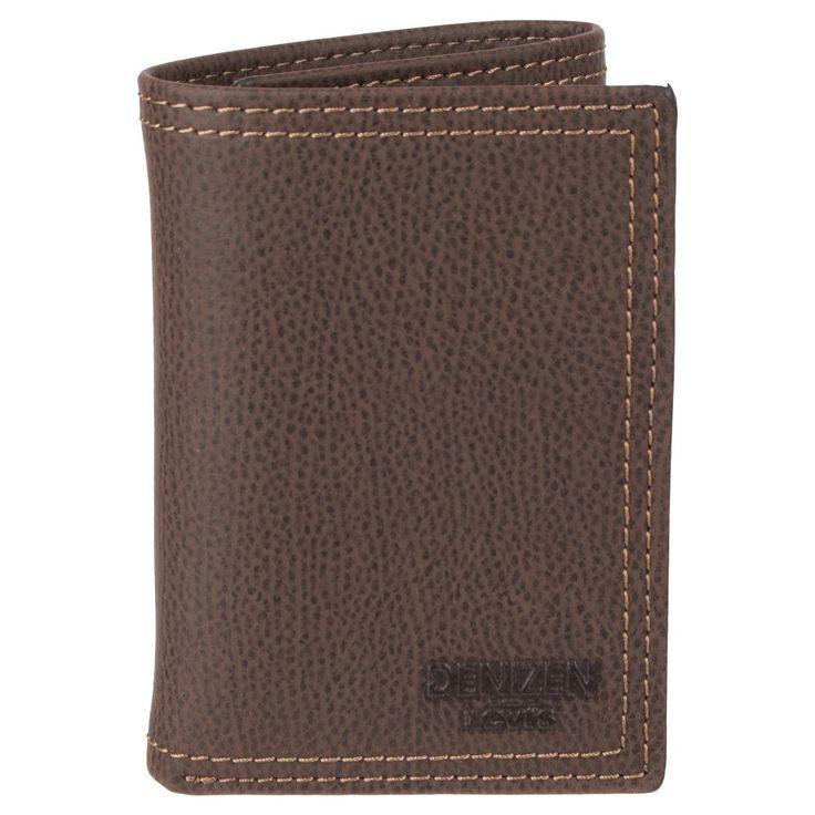 Denizen from Levi's Men's Trifold Rfid Wallet - Brown