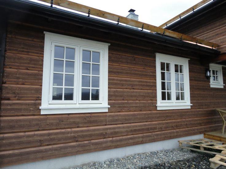 utvendig panel tips samt ramme for vindu