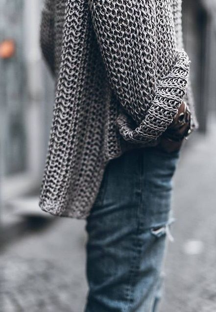 gonna miss wearing knit sweaters for awhile!