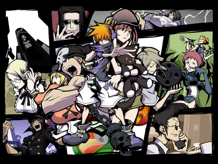 The World Ends With You   (A very awesome DS game.)