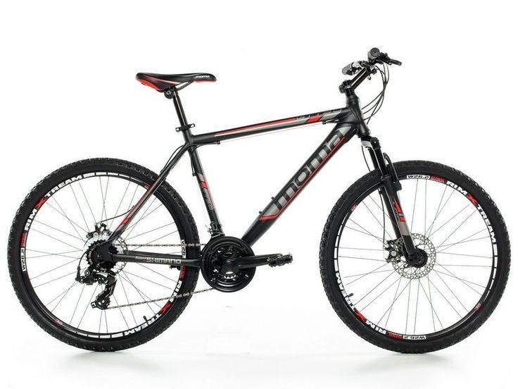 """Bicicleta de Montaña Shimano BTT 26"""" por 229,89 €  - Cuadro en aluminio 7005.Cambio Shimano profesional TX-55 24v. Manetas de cambio SHIMANO EF-51 de doble palanca. Desviador de platos Shimano TZ-20. Horquilla delantera Zoom con suspensión. Freno de disco delantero Zoom. Freno de disco trasero Zoom   #Bicicleta #deportes #fitness #chollos #regalos"""