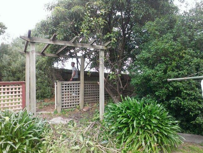 Gardening demolition!