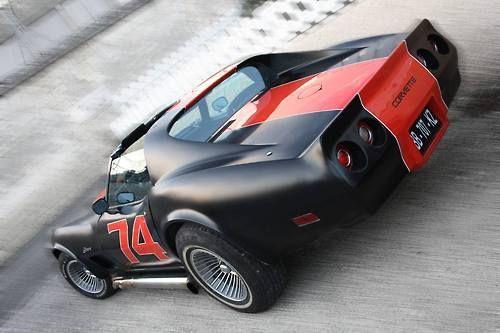 Visit The MACHINE Shop Café... ❤ Best of Corvette @ MACHINE ❤ (1974 Chevy Corvette Custom)