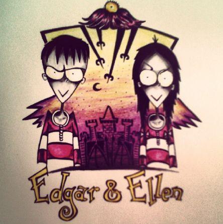 Fana Chamele: EDGAR AND ELLEN