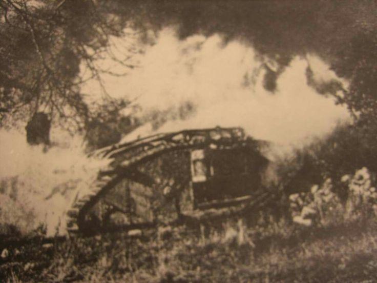 Tank vs. Flamethrower