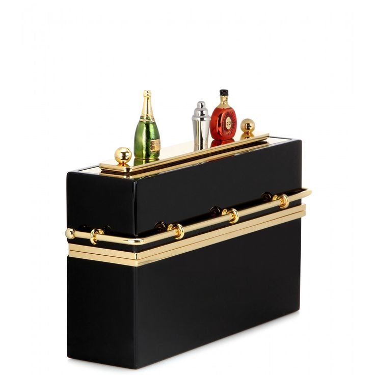 Mini Bar Embellished Box Clutch ¦ Charlotte Olympia » mytheresa