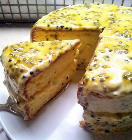 A decadent and delicious dessert ideal for spring - Jacks Granadilla Cake