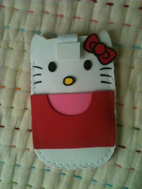 Hello Kitty Mobile Case by ~anapeig on deviantART