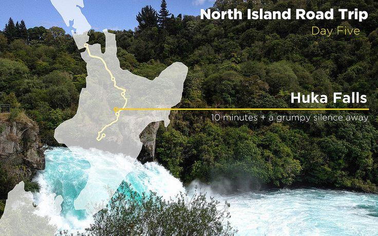 New Zealand – Huka Falls