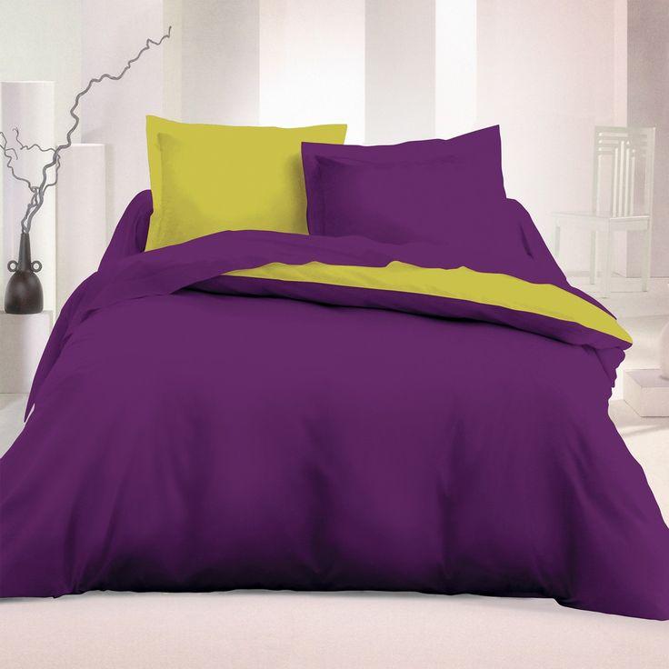 les 25 meilleures id es de la cat gorie couette violet sur pinterest literie prune lit violet. Black Bedroom Furniture Sets. Home Design Ideas