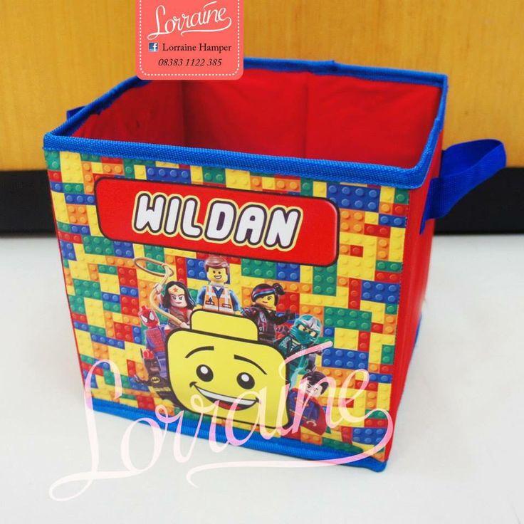 Toy box lego theme