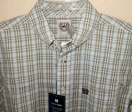 CINCH Jeans Boys Shirt L/S Western Rodeo Cowboy buttons PLAID NWT LARGE 12 LOTS OF KIDS WESTERN WEAR & MENS & WOMENS & COWGIRL BLING!  WAY BELOW RETAIL!  BAHA RANCH WESTERN WEAR EBAY SELLER ID  SOLOEDITION