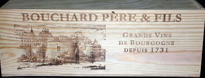 Wooden Wine Boxes & Wine Crates: Bouchard Pere & Fils Wooden Wine Crate