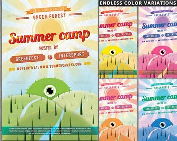 summer camp brochure template - 25 best camp brochures images on pinterest brochures