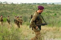 """Here is an unusual """"hero of the struggle for democracy in South Africa"""". This is a South African Defence Force (SADF) former """"whites only"""" National Service conscript turned """"volunteer"""" holding a R…"""