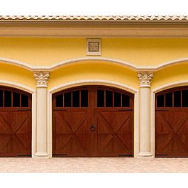 116 best images about arts crafts garage doors on for Arts and crafts garage plans