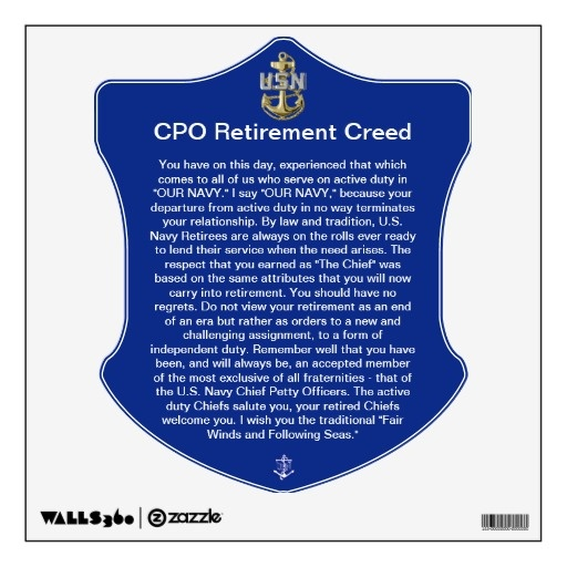Us Navy Cpo Creed Google Search Navy Pinterest To