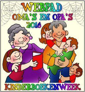 Edu-Curator: 4 x Kinderboekenweek 2016 'Oma's en Opa's - Voor altijd jong!' op…