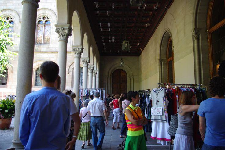 Flea markets en Barcelona.