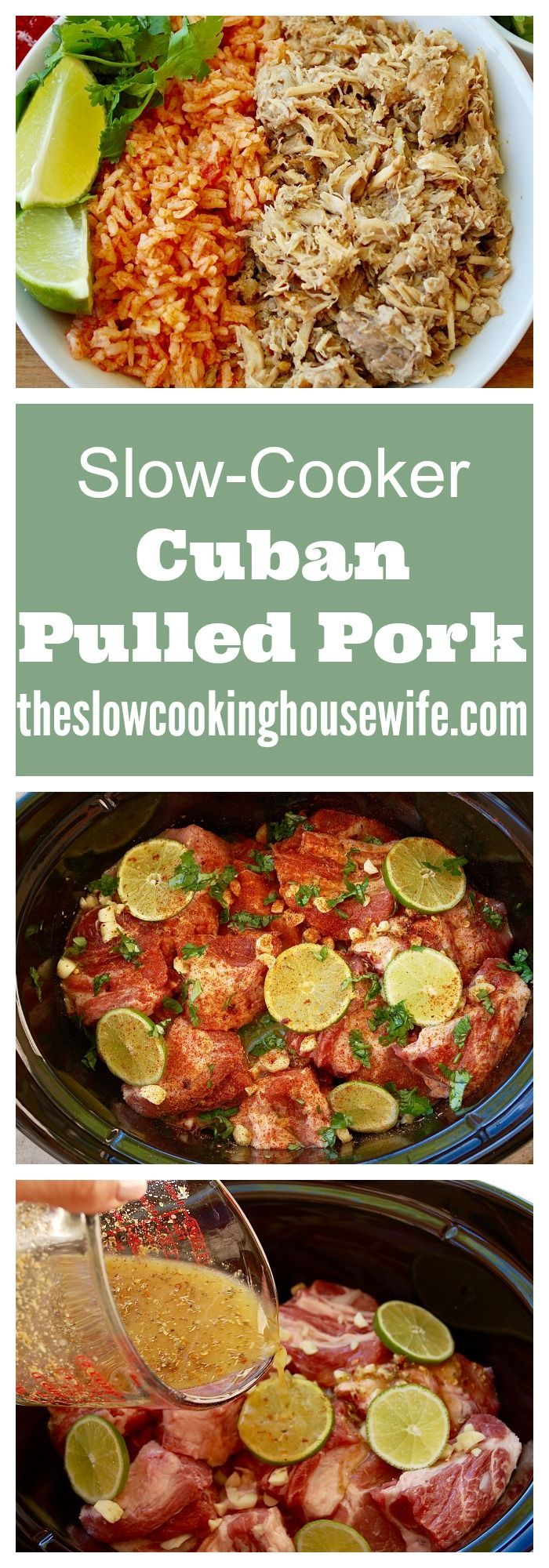 Delicious and easy Cuban Pulled Pork. Perfect in tacos, on nachos, in burritos…