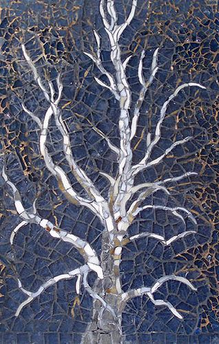 Love this #mosaic #trees