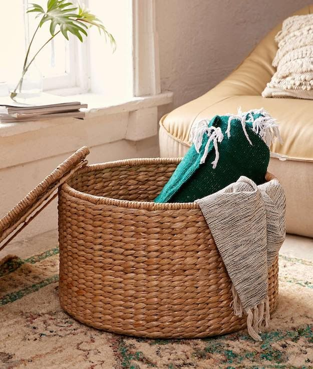 A Storage Ottoman | Dorm Room Checklist: Essential Items For Your College  Room Part 55