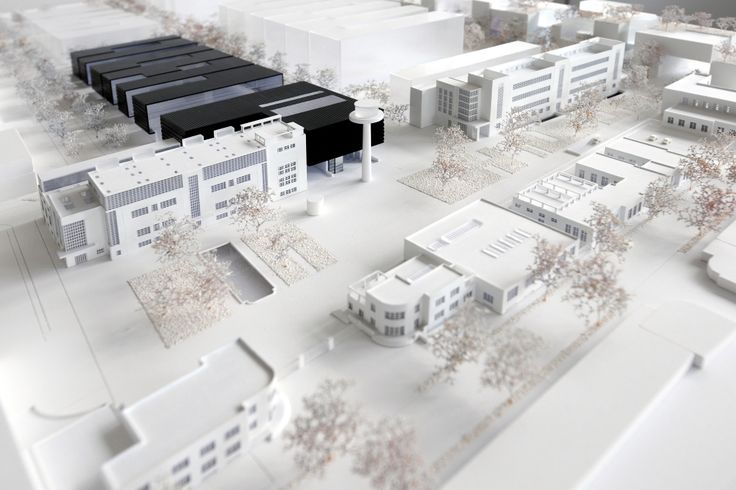 Rendering Parco Tecnologico. Bolzano (Italy) Based on a design project by the team of architects Chapman Taylor and CLEAA, the new technology park of Bolzano is set to rise from the ashes of the old aluminium factory of the city.