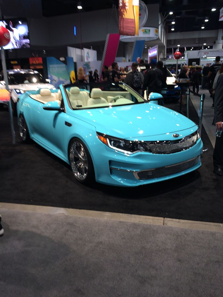 Sema Las Vegas 2015 - Kia optima 2016 convertible