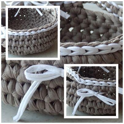 Crochet, Kitchen, Háčkování, Ošatka