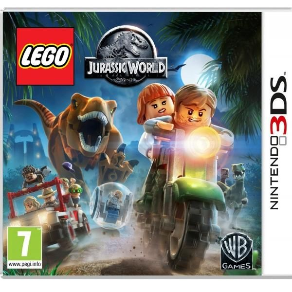 Lego Jurassic World 3DS Game | http://gamesactions.com shares #new #latest #videogames #games for #pc #psp #ps3 #wii #xbox #nintendo #3ds