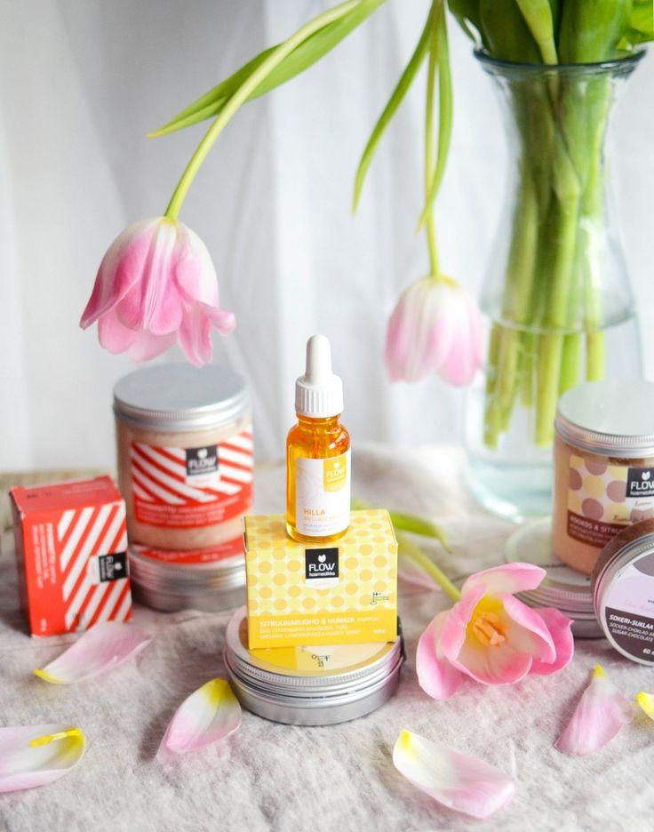 Flow cosmetics Flow kosmetiikan tuotteita Uusiatuulia-blogissa :)